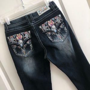Grace in LA Easy Fit Dream Catcher Denim Jeans
